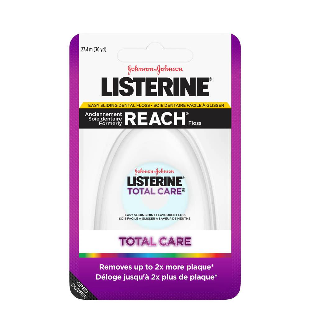 Soie dentaire facile à glisser Listerine Total Care