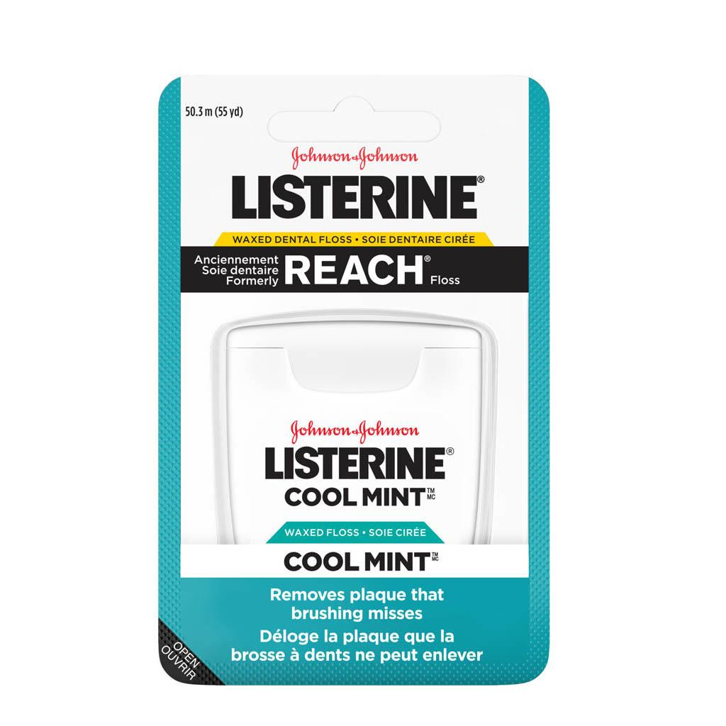 Soie dentaire Listerine Cool Mint