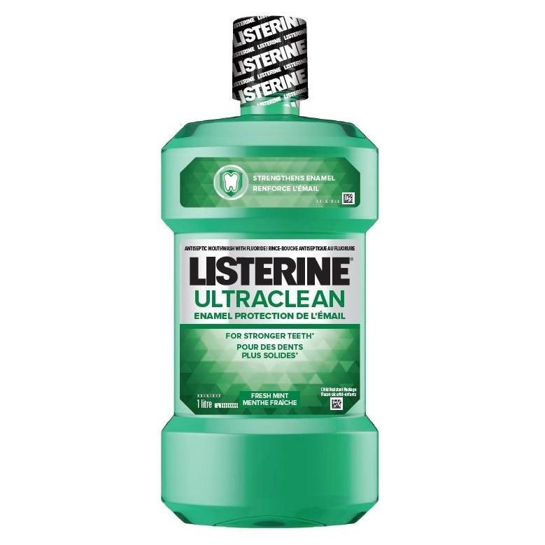 Rince-bouche Listerine Ultra Clean Protection de l'émail