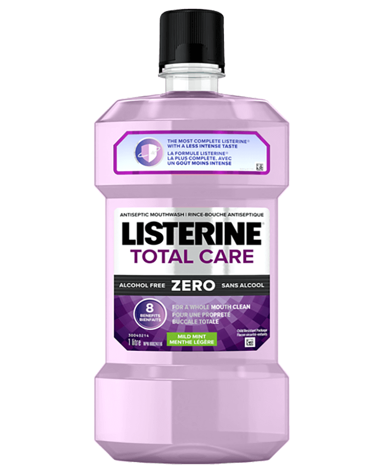 Rince-bouche sans alcool Listerine Total Care Zero