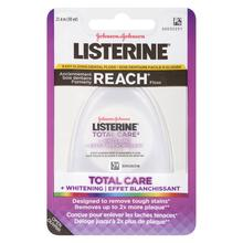 Soie dentaire Listerine Total Care + Effet blanchissant