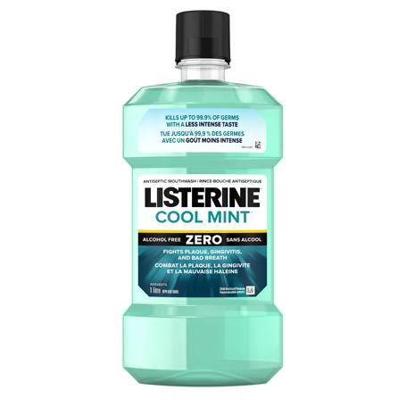 Rince-bouche antiseptique Listerine Cool Mint Zero